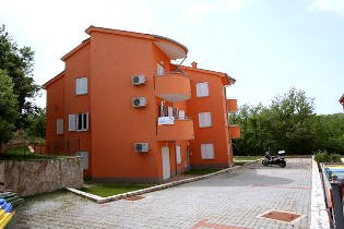 Insel Krk Apartment in Ruhelage Internet Kinderbett